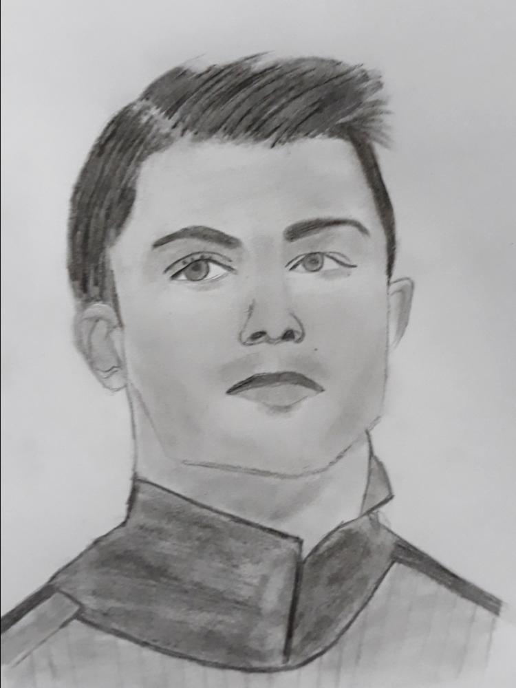 Cristiano Ronaldo by Thuvaraka